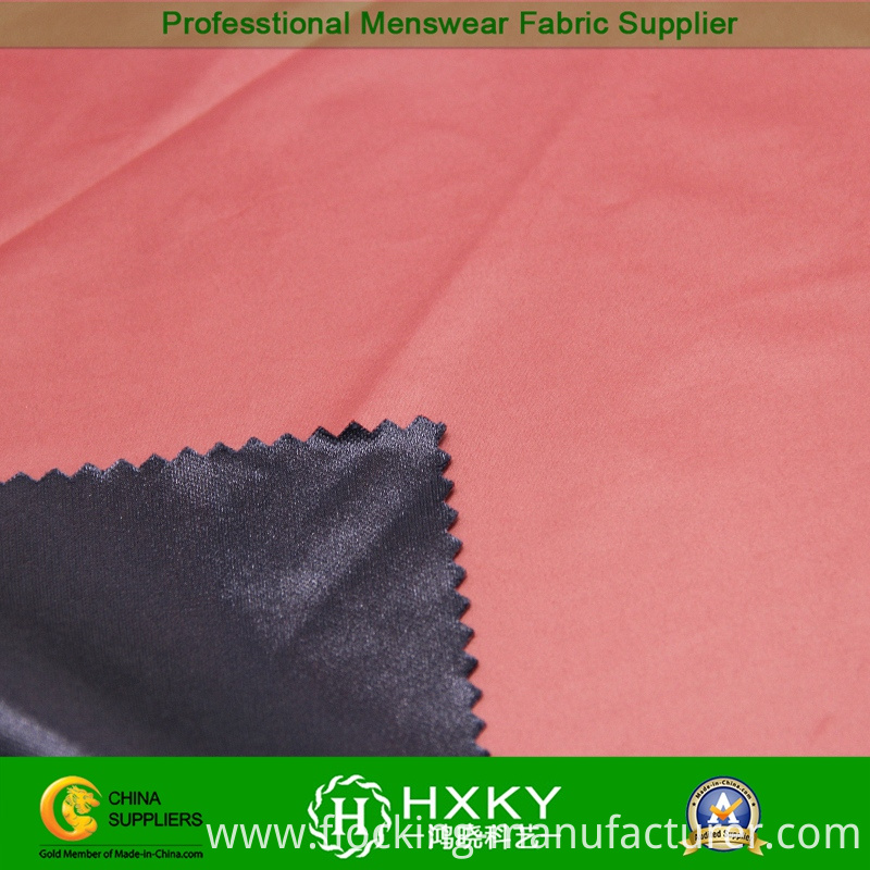50d Cire Processing Polyester Compound Fabric for Men's Jacket